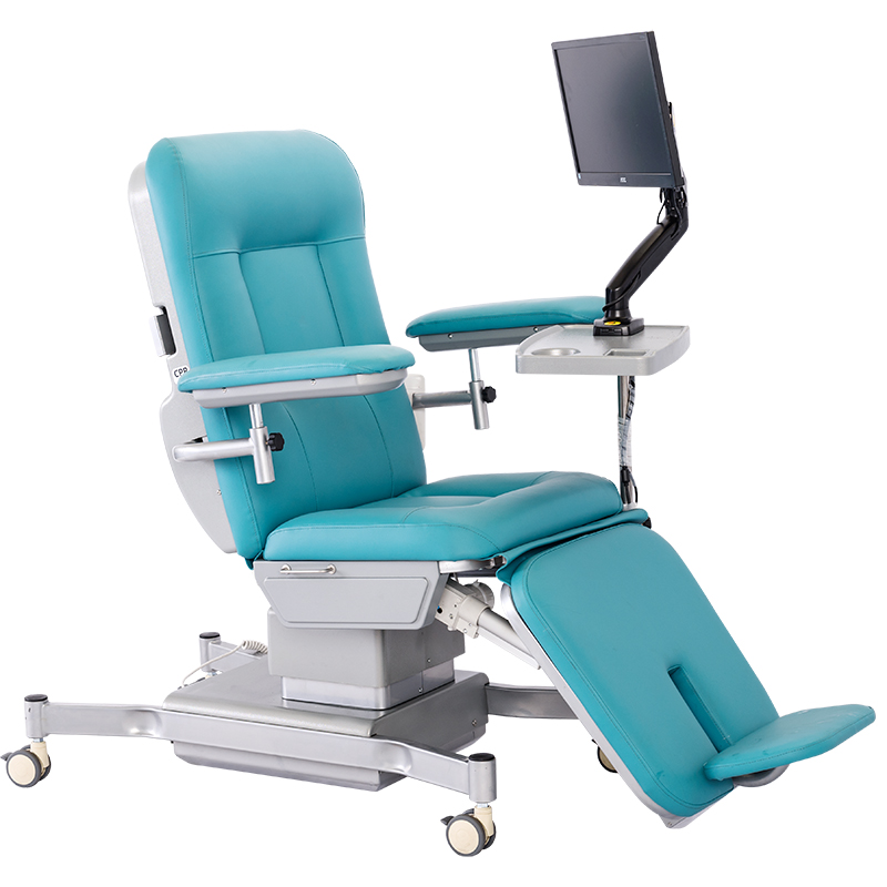SKE-170A Electric Blood Donor Drawing Hemodialysis Dialysis Chair
